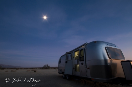 Camping out in Anza Borrego, I accidentally got this shot all because I was too lazy to move a couple of chairs from the frame. So I moved my camera instead. Oh, and that's the moon.