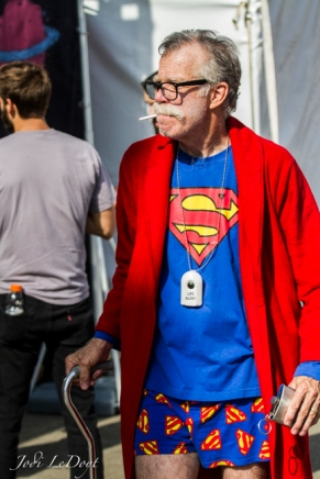 Superman in the later years.
